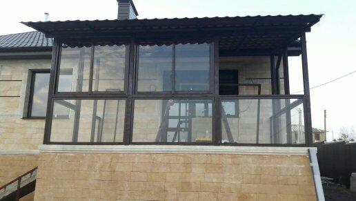 остекление балконов и лоджий — Балкон Дизайн — Казань, фото №9