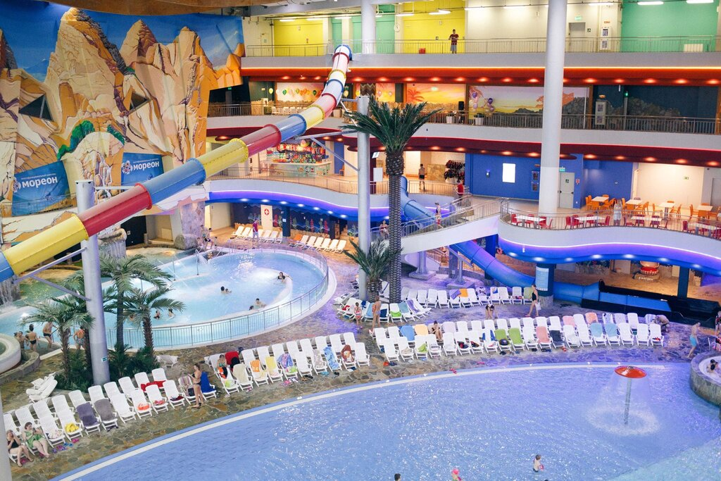 аквапарк — Мореон — Москва, фото №1