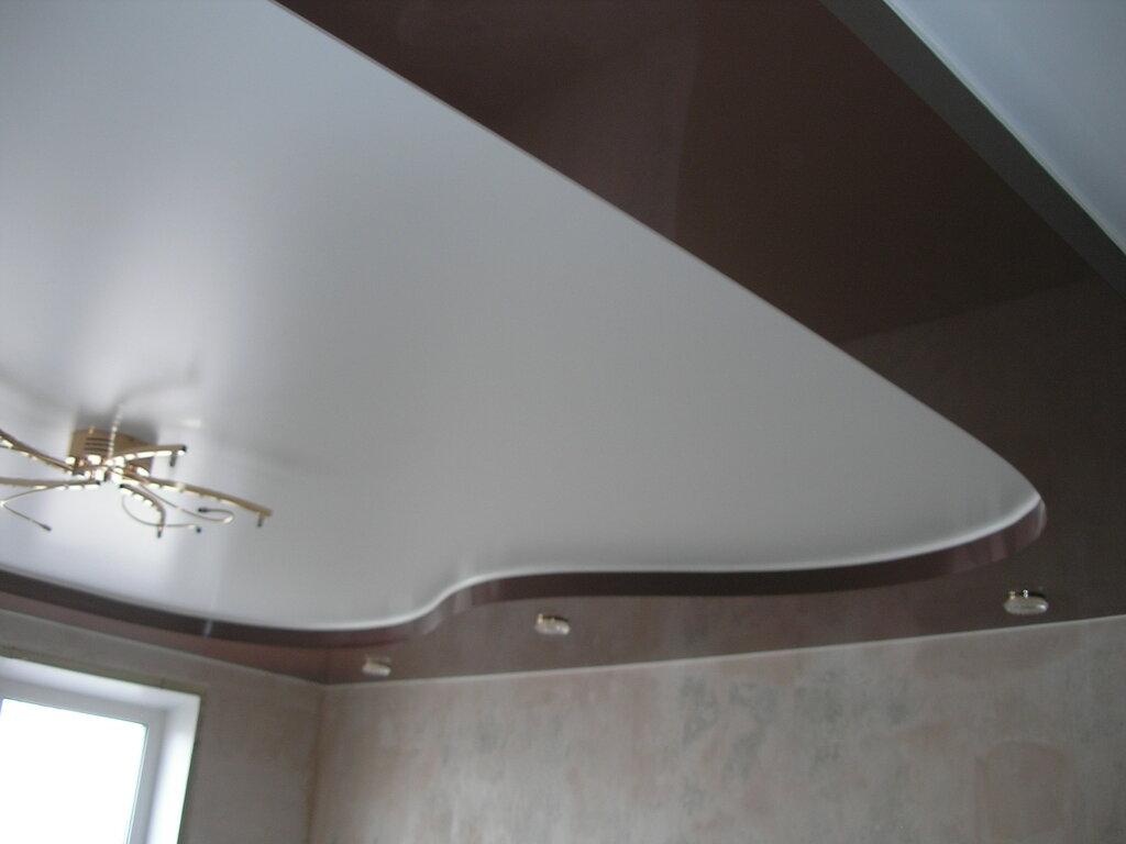 Горизонтальная линия у потолка фото