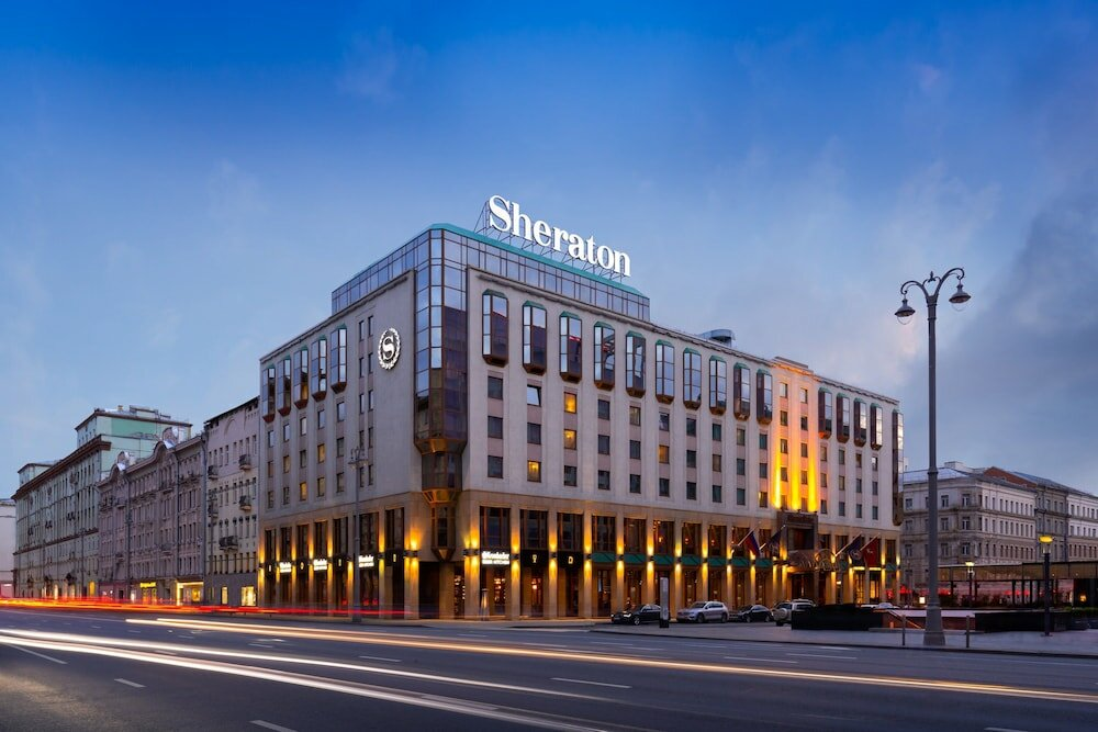 гостиница — Шератон Палас — Москва, фото №1