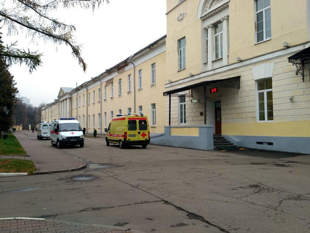 Как доехать до госпиталя Бурденко (Москва) общественным ...