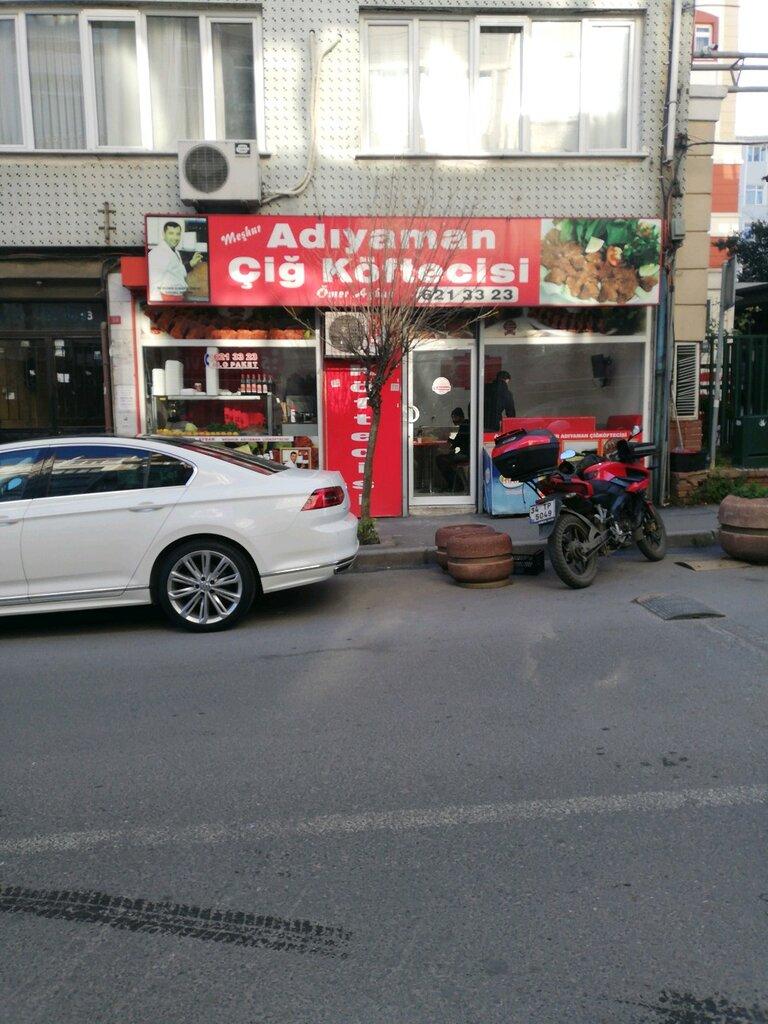 fast food — Meshur Adıyaman Çiğ Köftecisi Ömer Aybak — Fatih, photo 1