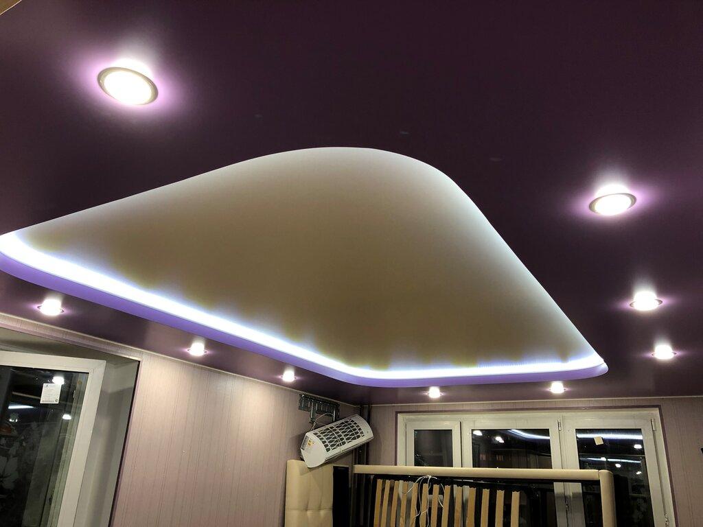 Натяжные потолки фотографии для дома