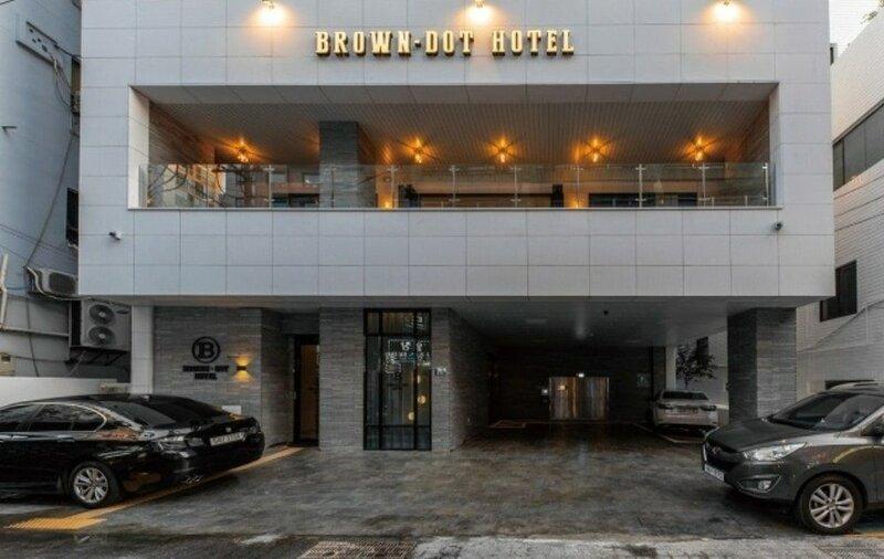 Brown Dot Hotel Deokcheon
