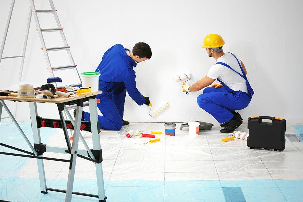 обычной картинки строительных и отделочных работ является