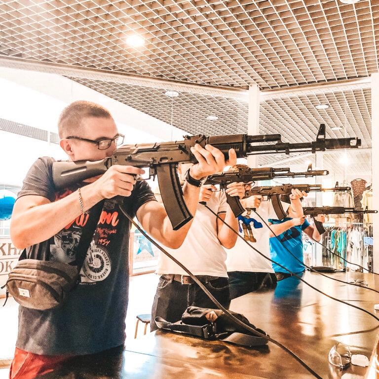 стрелковый клуб, тир — Gun Quest Club — Москва, фото №1