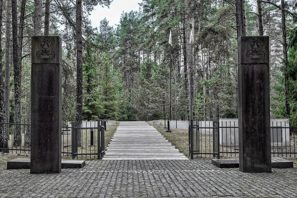 Мемориальный комплекс Катынь, , Мемориал Катынь