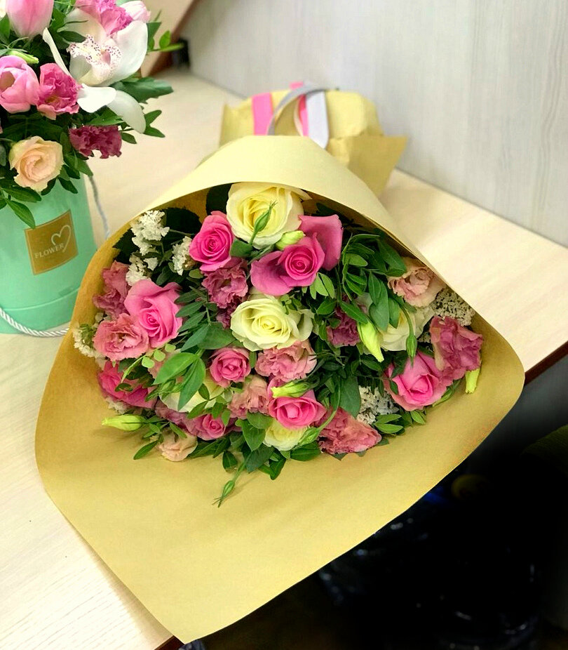 Доставка цветы алматы