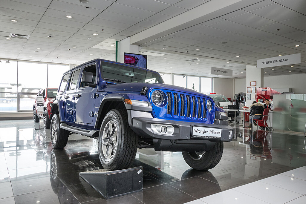 Jeep автосалоны в москве на карте займ под автомобиль с правом пользования