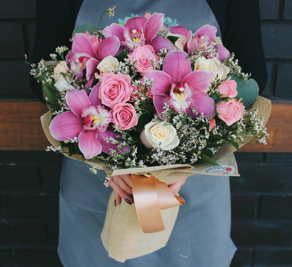 Цветов, заказать доставку цветов казань