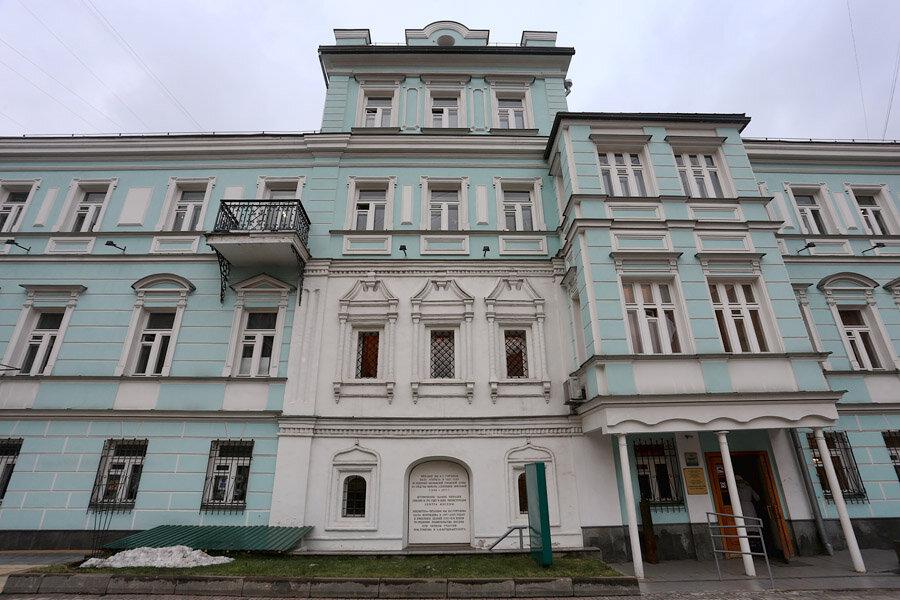 библиотека — Библиотека-читальня им. И. С. Тургенева — Москва, фото №1