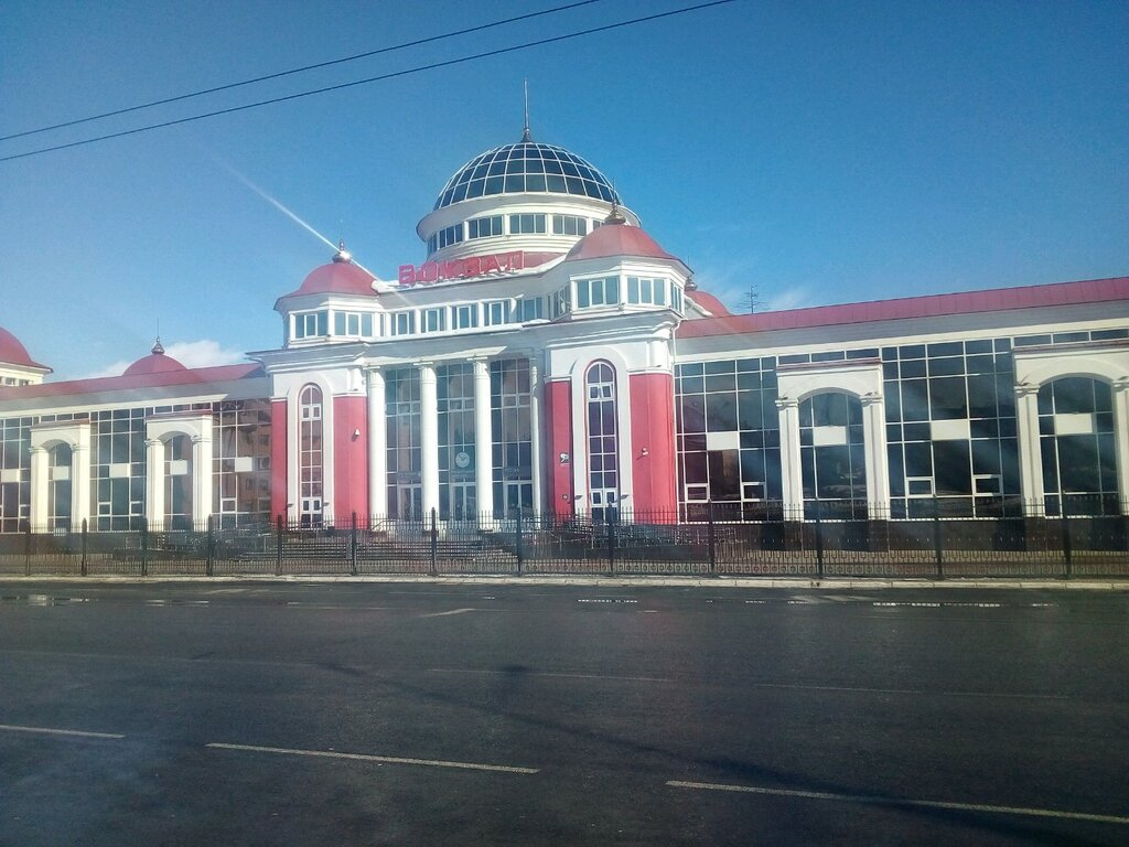 железнодорожный вокзал — Железнодорожный вокзал — Саранск, фото №2