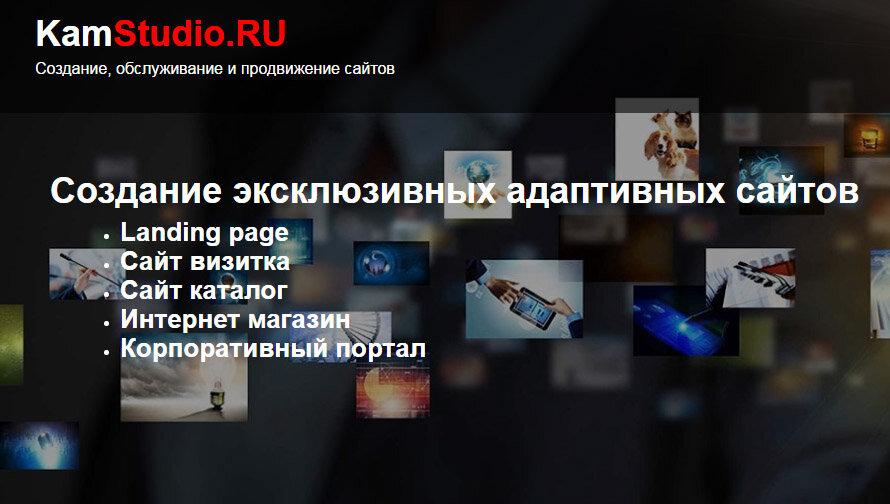 студия веб-дизайна — Камстудио — Томск, фото №2