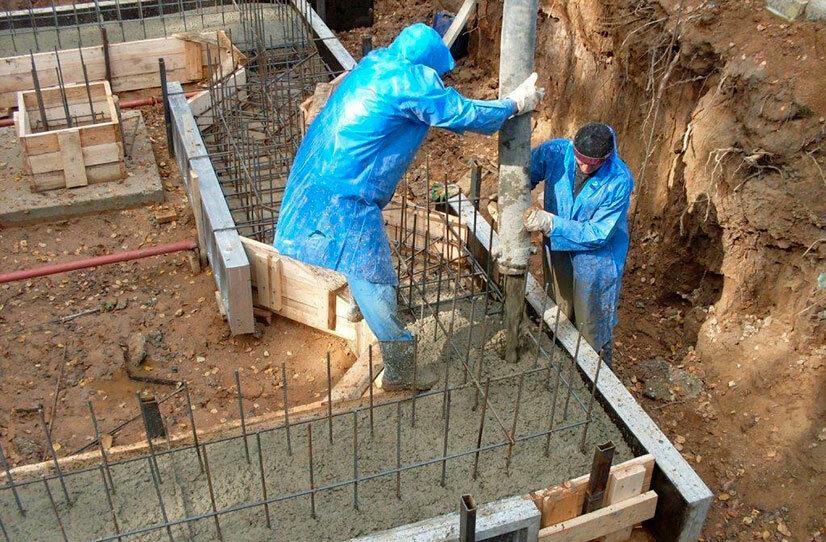 работа бетон