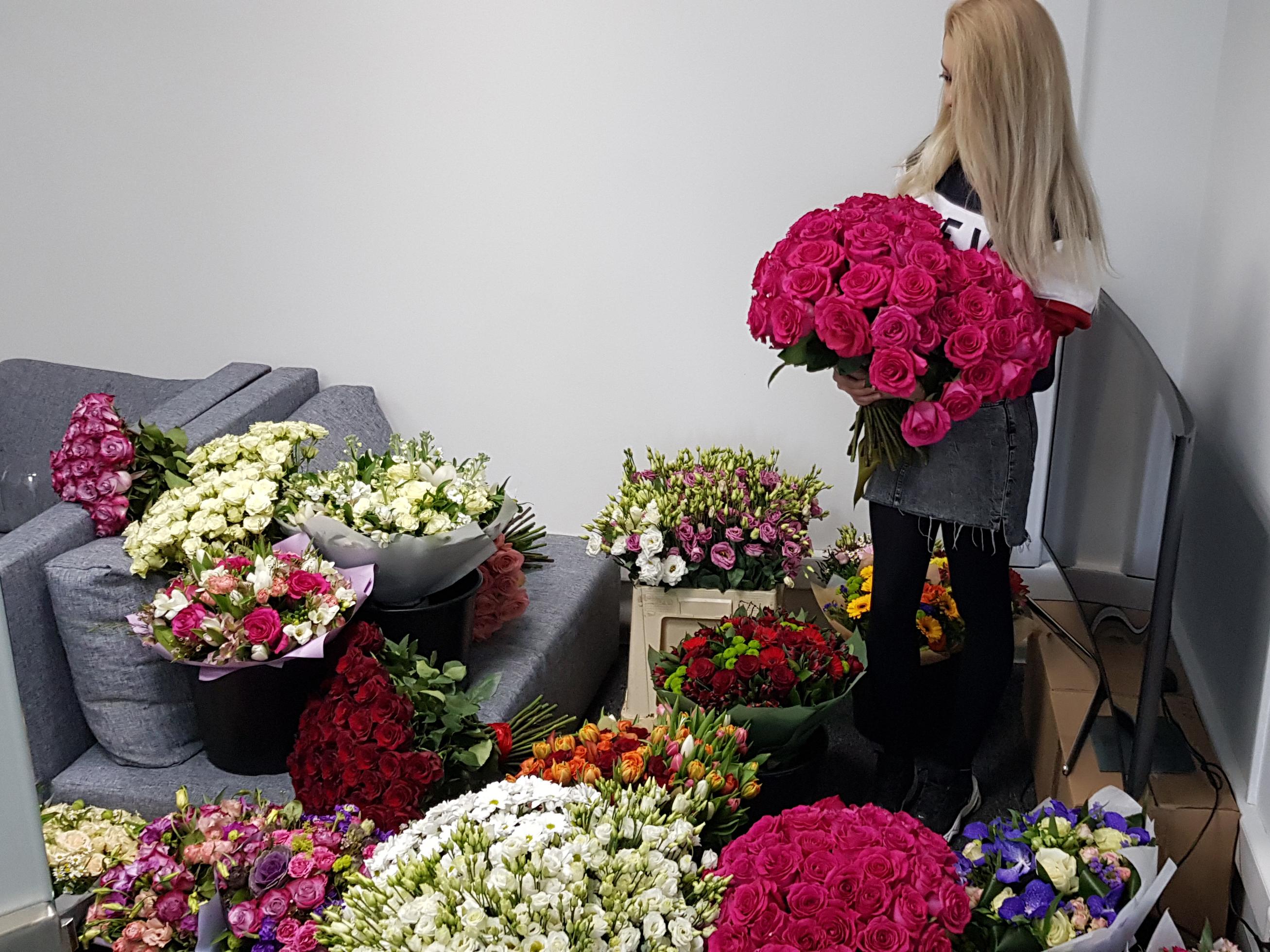 Цветы волгоградский проспект доставка, букет заказать алматы