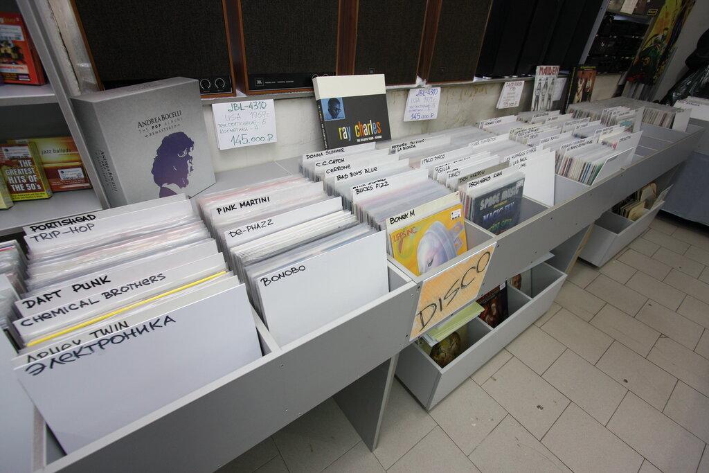 музыкальный магазин — Магазин виниловых пластинок Boogiemanmusic — Москва, фото №3