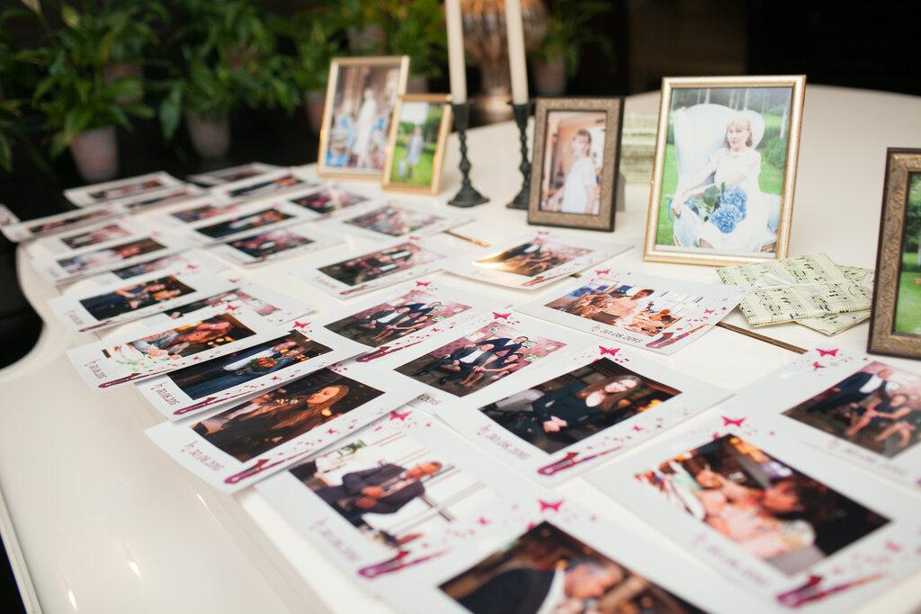 красок фотопечать на свадьбе этой целью