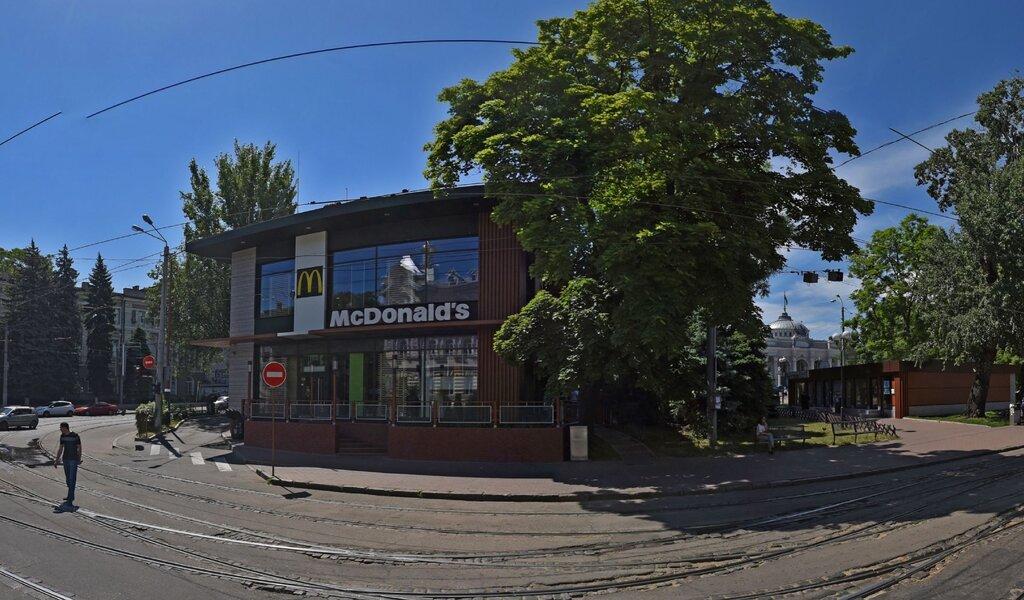 Панорама быстрое питание — МакДональдз — Одесса, фото №1