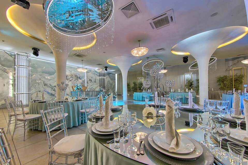 банкетный зал — Банкетный ресторан Небесный — Санкт-Петербург, фото №7