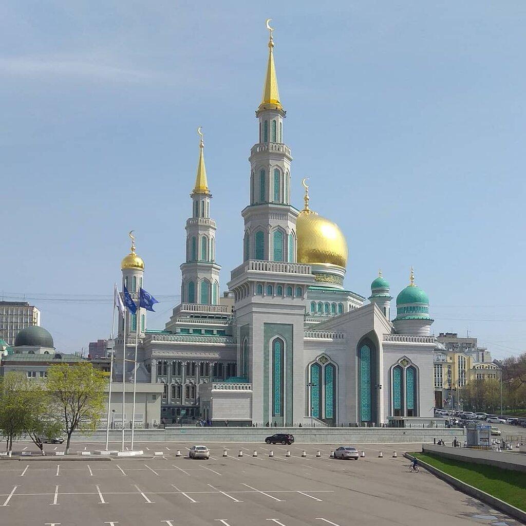 Картинки мечети москвы