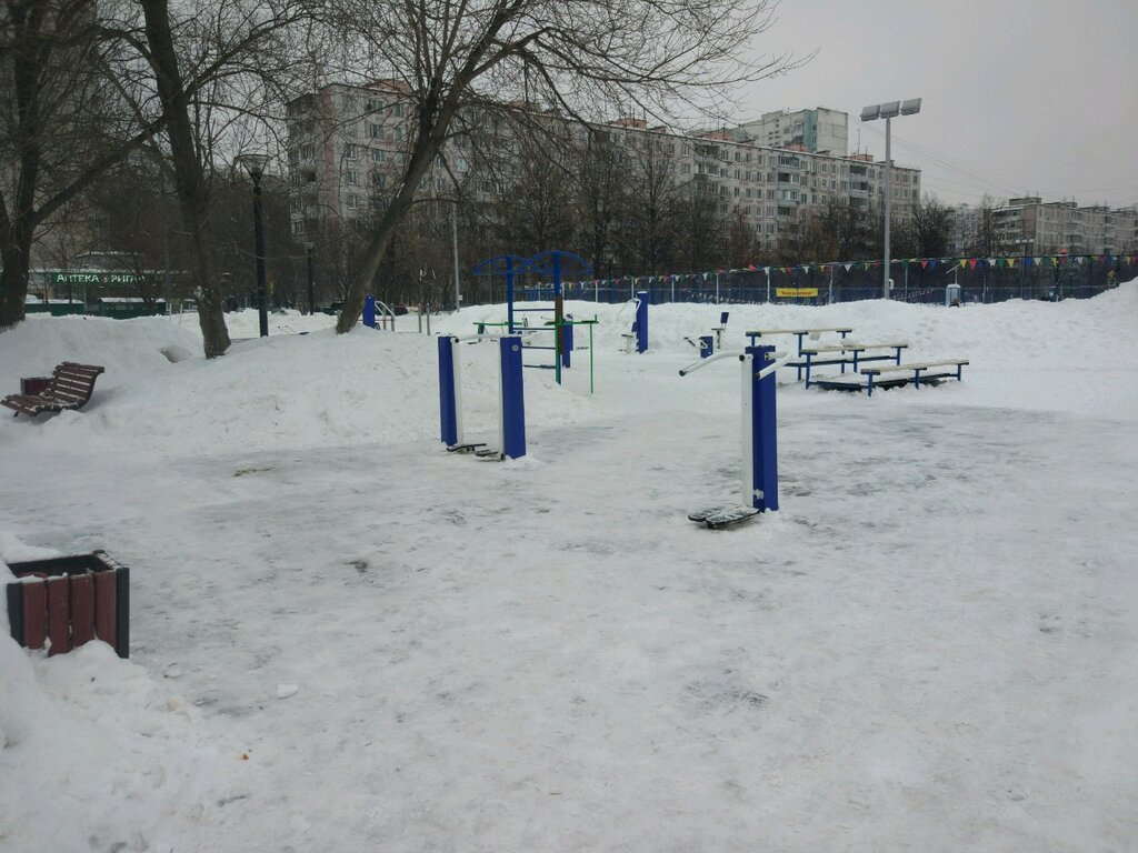 sports activity location — Спортплощадка, воркаут — Moscow, фото №4