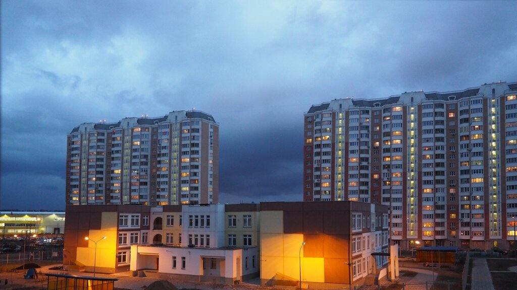град Московский ночное небо в высоком качестве фото детский сад