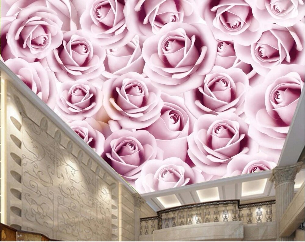 раньше картинки розы на потолке написана