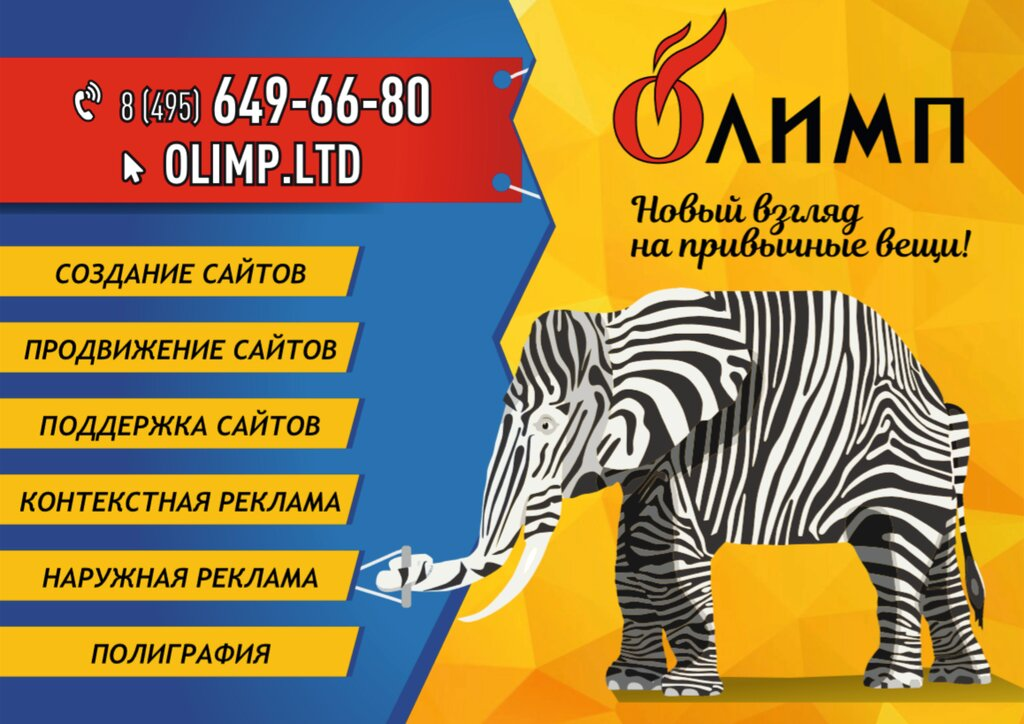 студия веб-дизайна — Олимп — Королёв, фото №1
