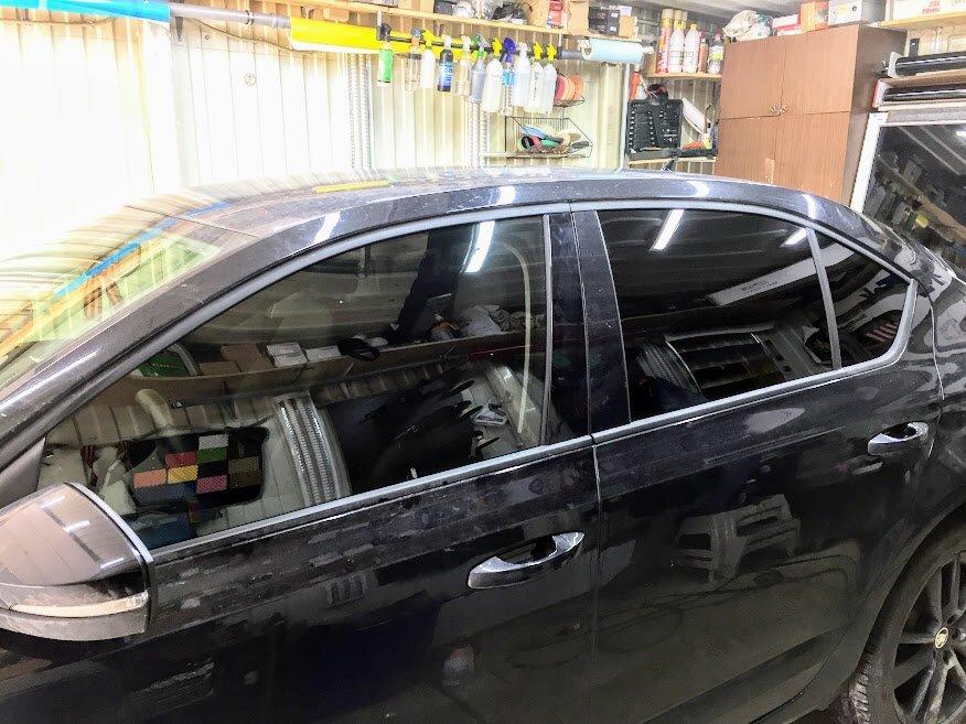 window tinting — Dark auto — Drezna, photo 2