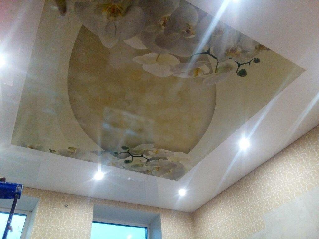 Натяжные потолки картинки челябинск