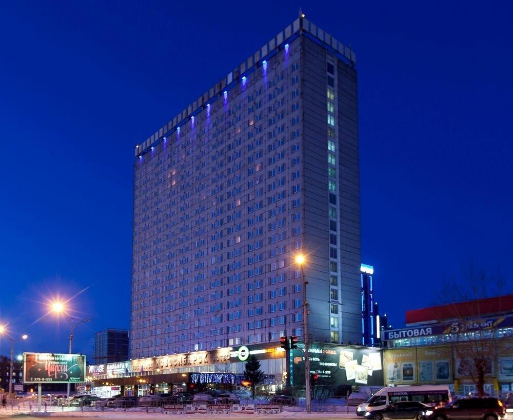 гостиница — Marins Park Hotel — Новосибирск, фото №1