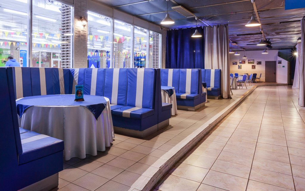 restaurant — Restaurant and curling club Ice Planet — Москва, фото №1
