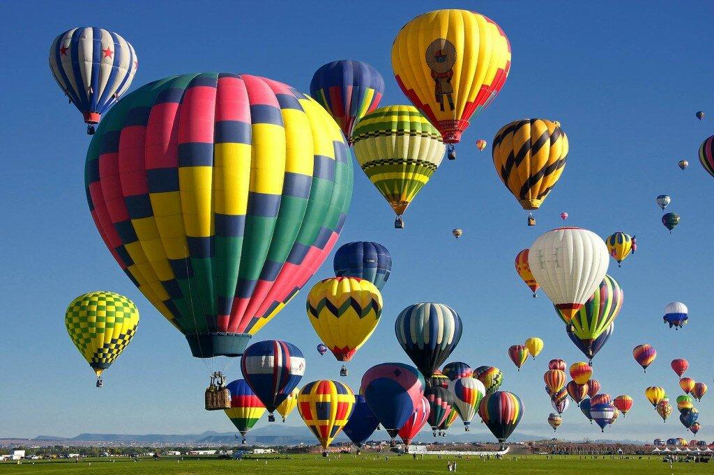 картинки красивые с шарами большими летающими красиво