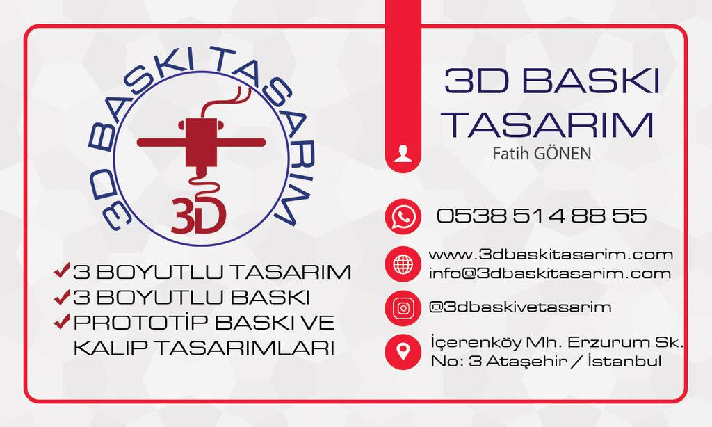 3D-baskı — 3D Baskı Tasarım — Ataşehir, foto №%ccount%
