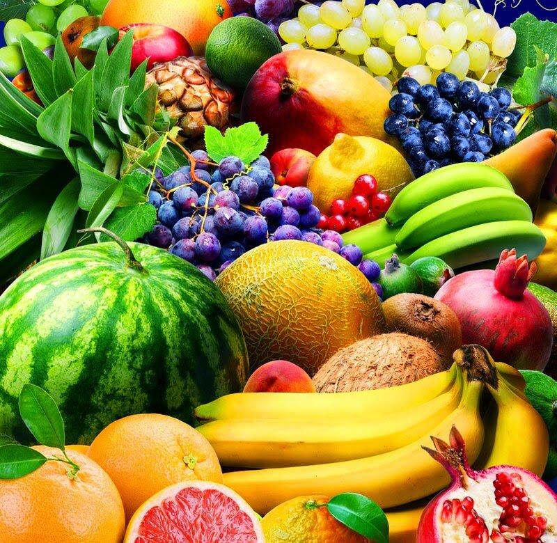 Картинки ягод овощей фруктов