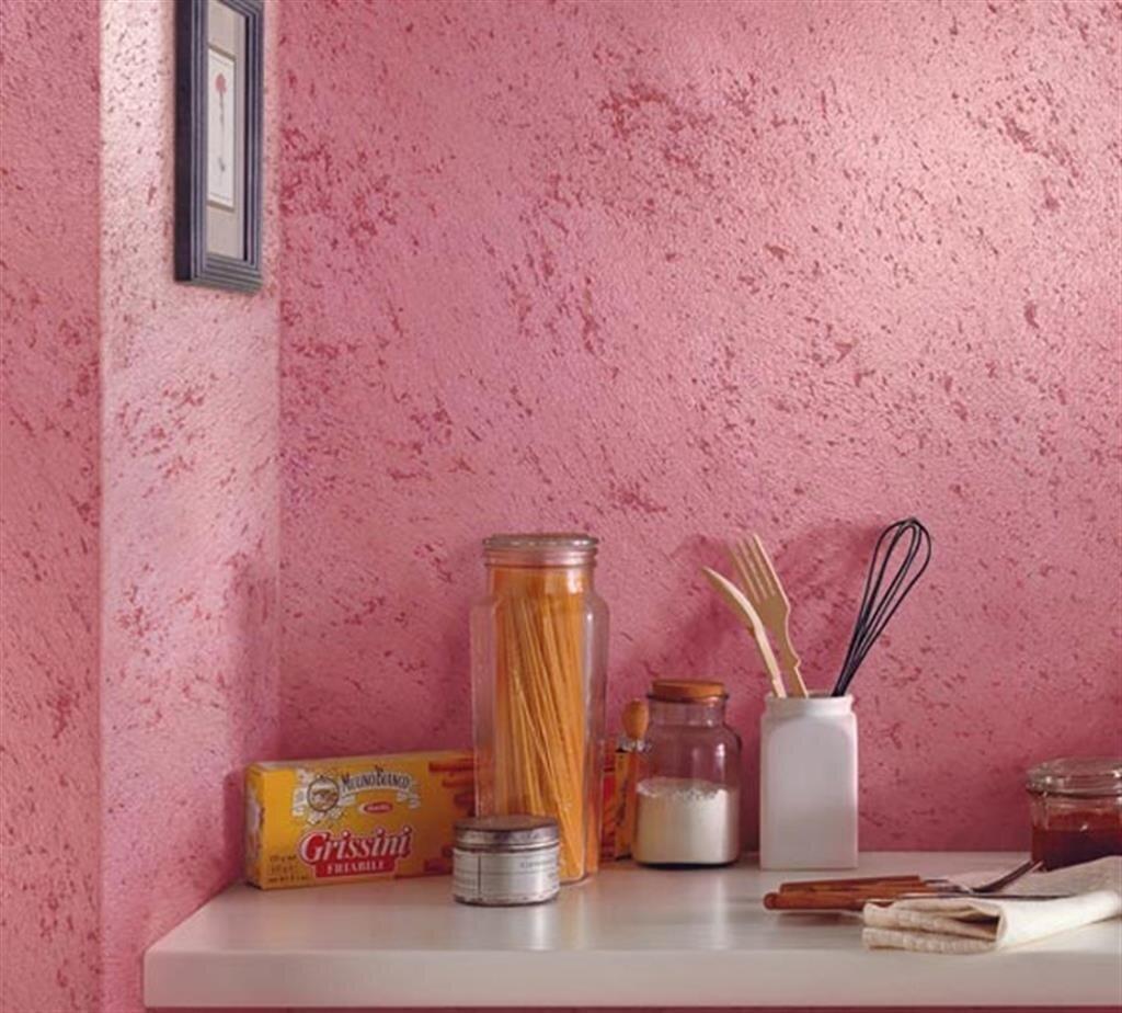 фото фактурной штукатурки для кухни практикуют прикреплять