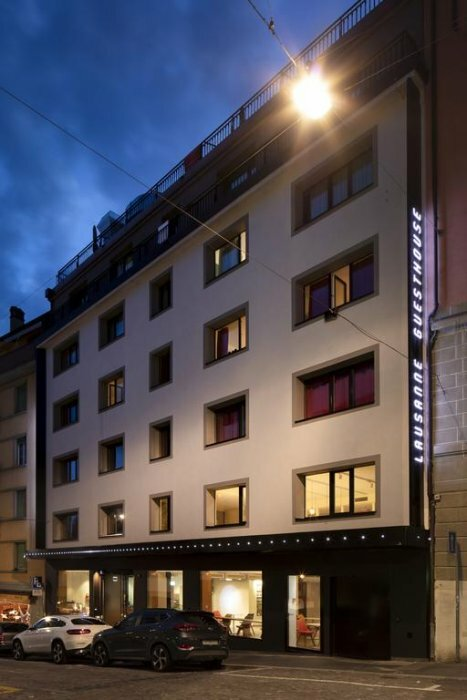 Hotel Lausanne by Fassbind sup