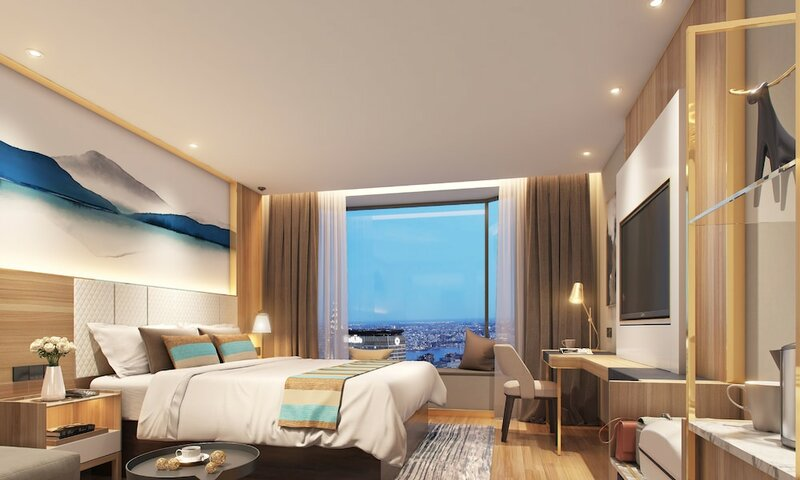 GreenTree Inn Suzhou Zhangjiagang Yangshe Old Street Stadium Express Hotel