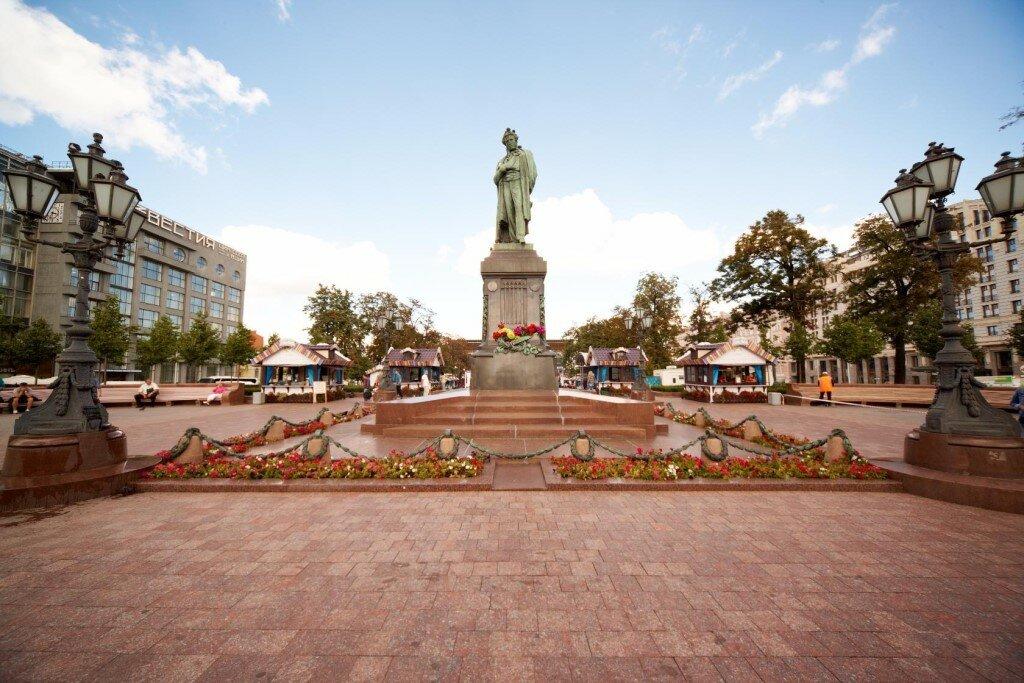 достопримечательность — Пушкинская площадь — Москва, фото №10