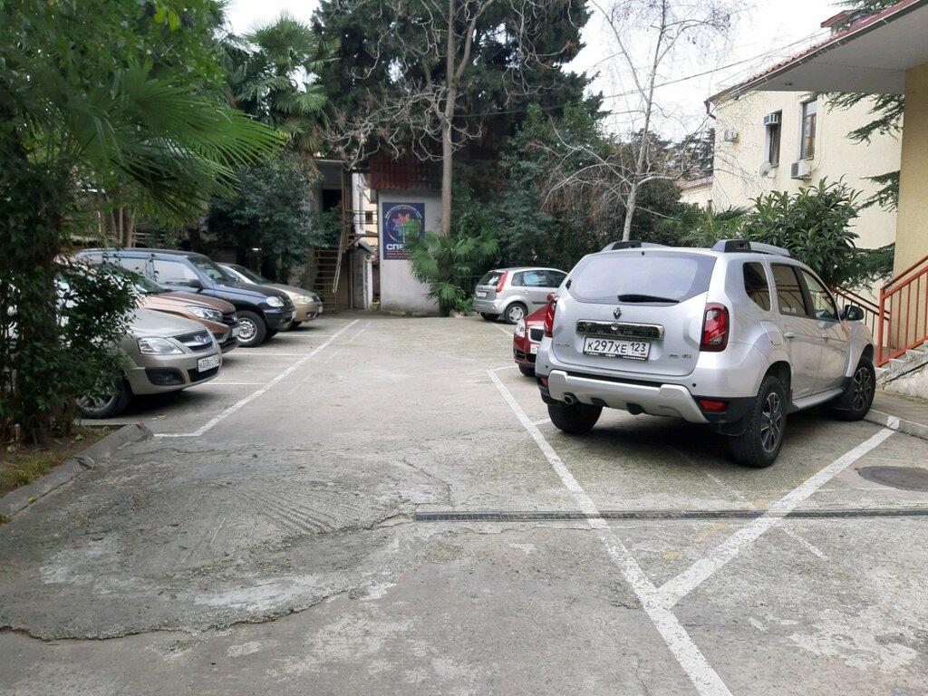 автомобильная парковка — Парковка — Сочи, фото №1