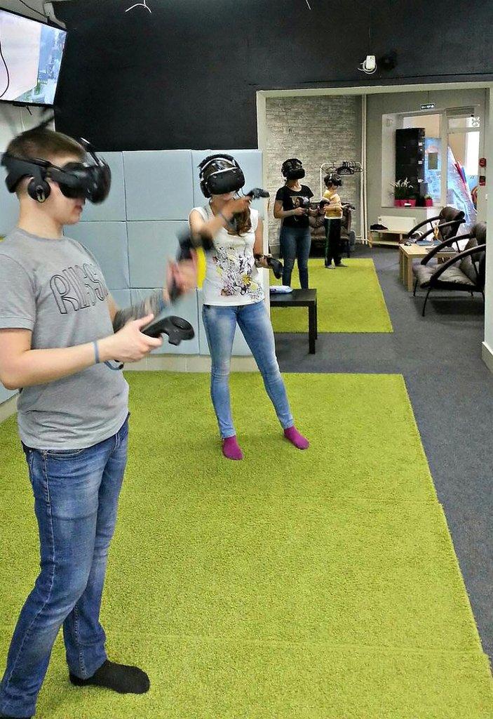 клуб виртуальной реальности — Vr Club сеть клубов Виртуальной Реальности — Новосибирск, фото №4