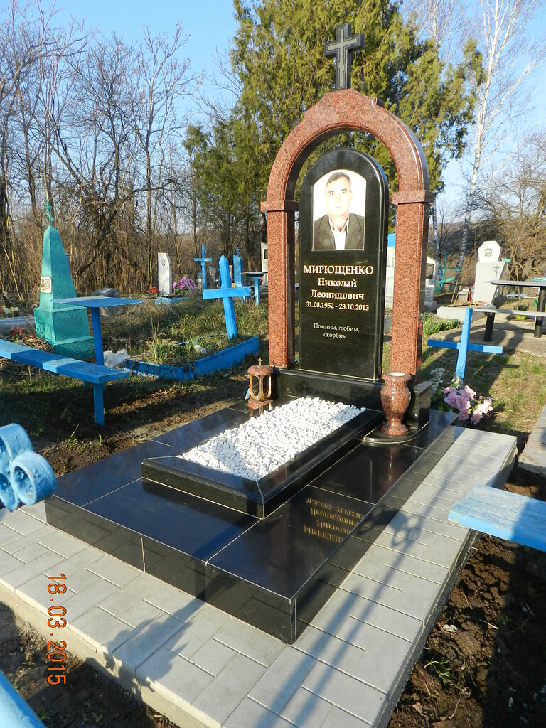 памятники и надгробия — Ритуалум — Ростов-на-Дону, фото №4