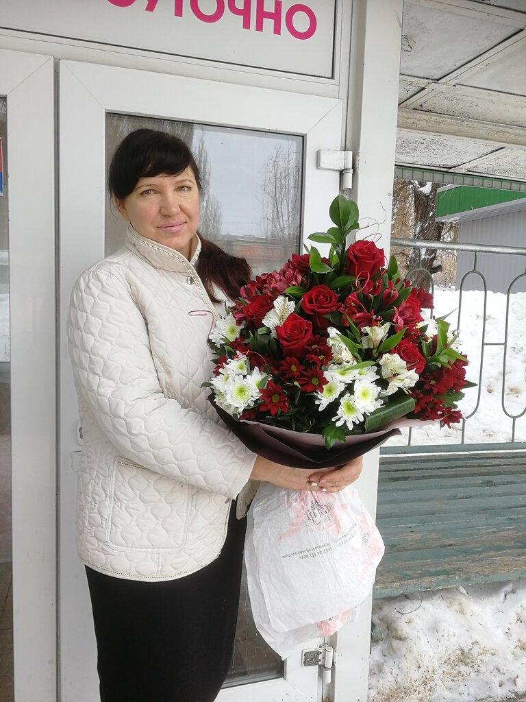 Доставка цветов по балаково, букет нежный