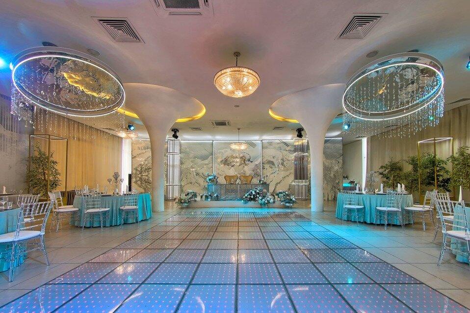 банкетный зал — Банкетный ресторан Небесный — Санкт-Петербург, фото №8