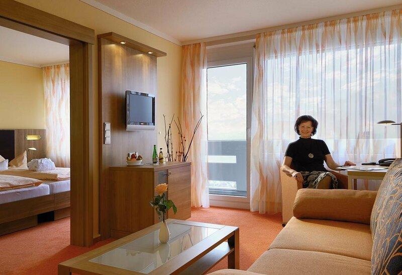 Parkhotel Am Reha- Und Präventionszentrum Bad Bocklet