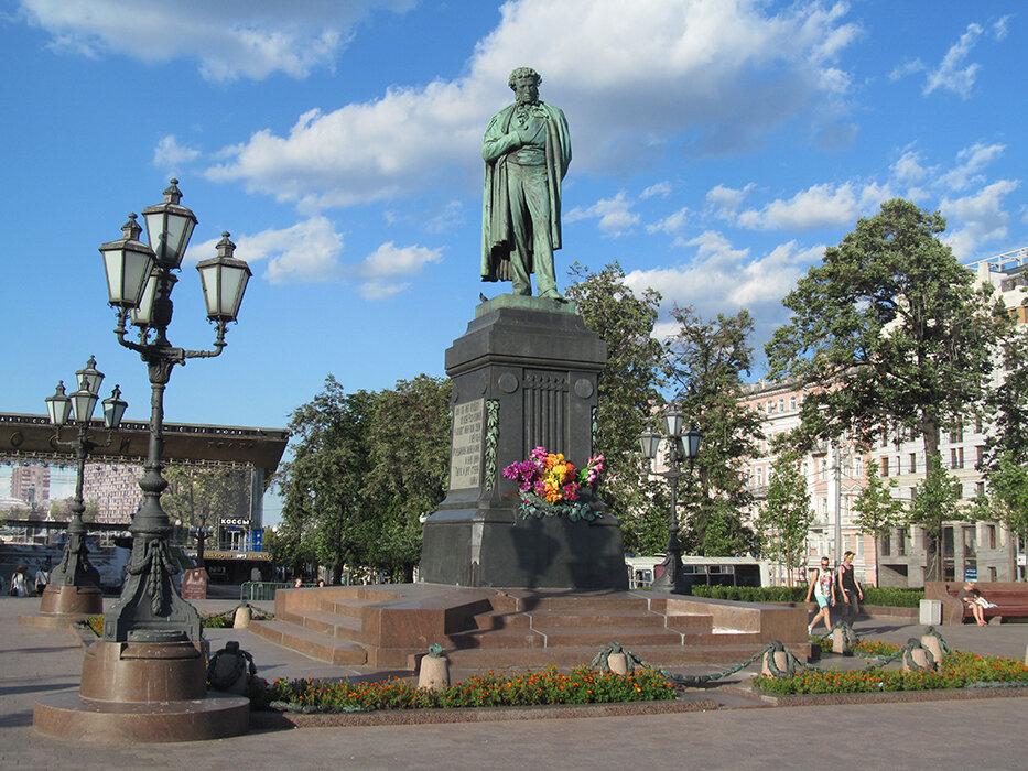 достопримечательность — Пушкинская площадь — Москва, фото №8