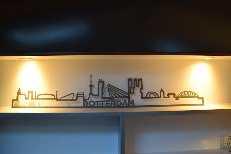 Boat apartment Rotterdam Hoop