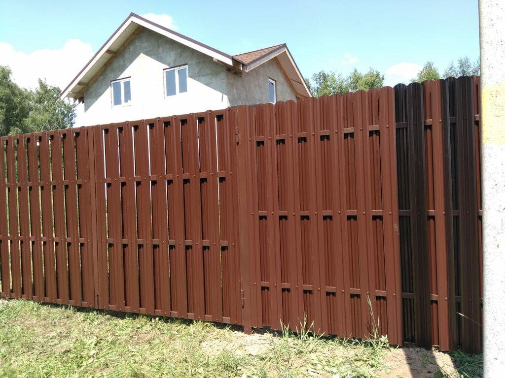 металлические заборы и ограждения — Дачный Забор — Люберцы, фото №1