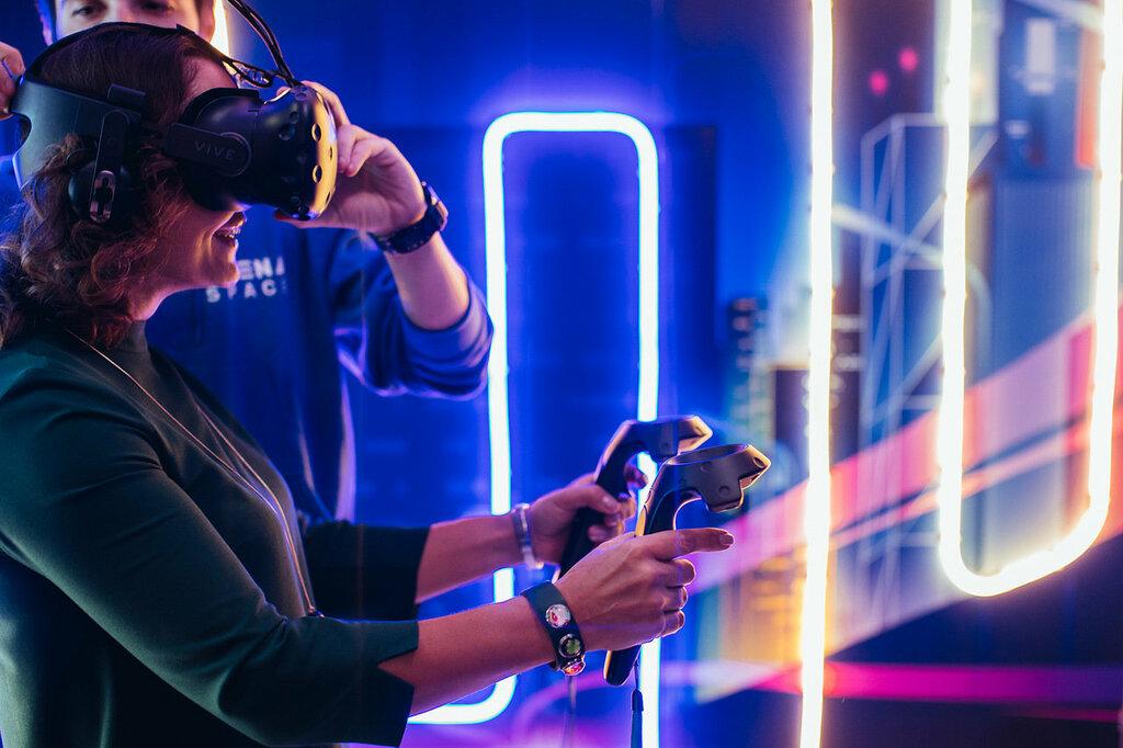клуб виртуальной реальности — ARena Space - центральный офис — Москва, фото №5
