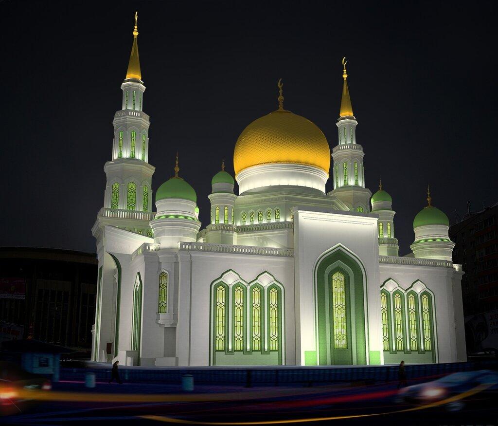 фотографии московской мечети честь северного морского